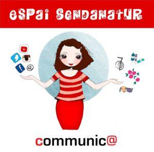 Logo Espai Sendanatur Communic@